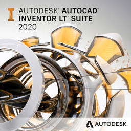 autocad inventor lt suite 2020 badge 256px opt