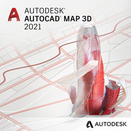 autocad map 3d 2021 badge 256px opt